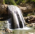 Upper pools falls